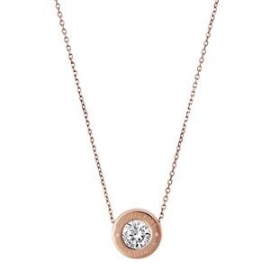Michael Kors Rose Gold Logo Necklace